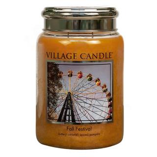 Village Candle Veľká vonná sviečka v skle Fall Festival 645g - Jesenná slávnosť