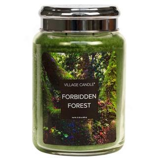 Village Candle Veľká vonná sviečka v skle Forbidden Forest 645g - Zakázaný les