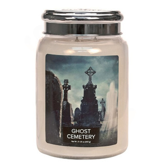 Village Candle Veľká vonná sviečka v skle Ghost Cemetery 645g - Cintorín plný duchov