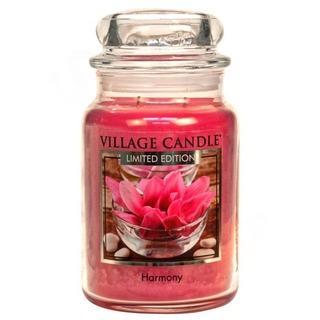 Village Candle Veľká vonná sviečka v skle Harmony 645g - Harmónia