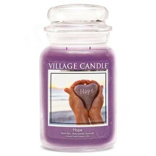 Village Candle Veľká vonná sviečka v skle Hope 645g - Nádej