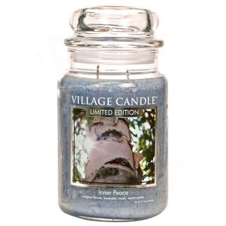Village Candle Veľká vonná sviečka v skle Inner Peace 645g - Vnútorný pokoj