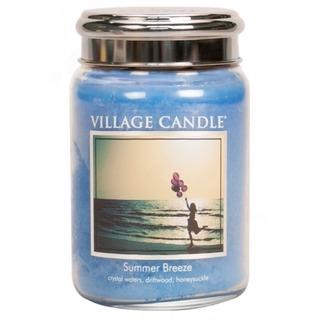 Village Candle Veľká vonná sviečka v skle Summer Breeze 645g - Letný vánok