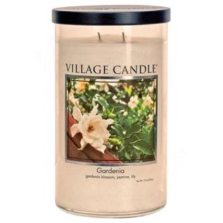 Village Candle Vôňa mesiaca marec 2020 - vonná sviečka v skle Gardenia 538g - Gardénia