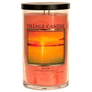 Village Candle Vôňa mesiace máj 2020 - vonná sviečka v skle Sunrise 538g - Východ slnka