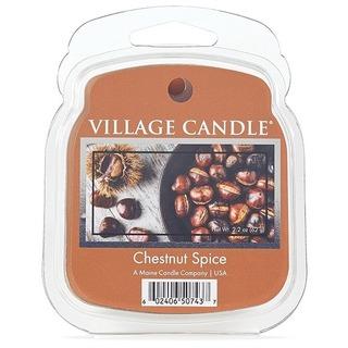 Village Candle Vonný vosk Chestnut Spice 62g - Pečené gaštany