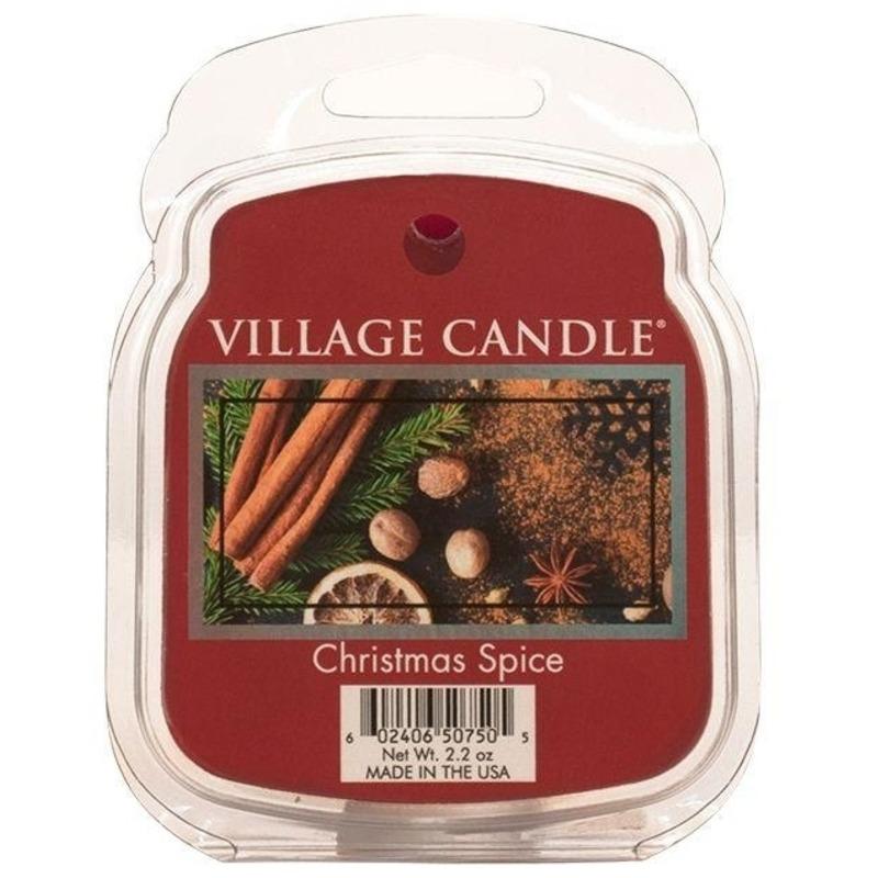 Village Candle Vonný vosk Christmas Spice 62g - Vianočné korenia