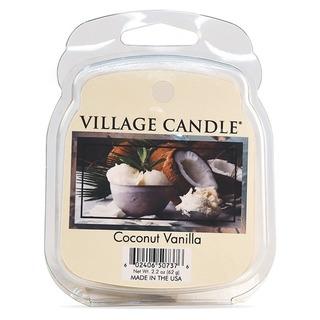 Village Candle Vonný vosk Coconut Vanilla 62g - Kokos a vanilka