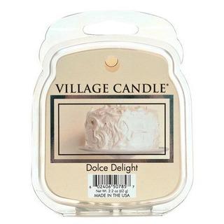 Village Candle Vonný vosk Dolce Delight 62g - Zamatové potešenie