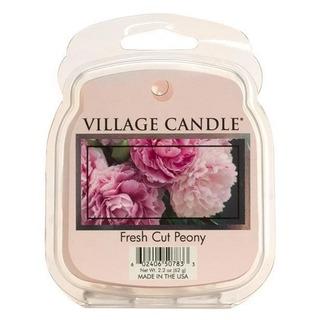 Village Candle Vonný vosk Fresh Cut Peony 62g - Pivonky