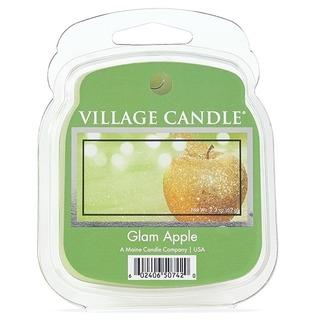 Village Candle Vonný vosk Glam Apple 62g - Šťavnaté jablko