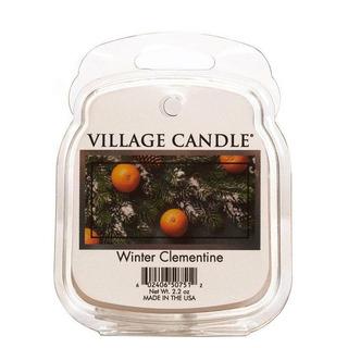 Village Candle Vonný vosk Winter Clementine 62g - Sviatočné mandarínka