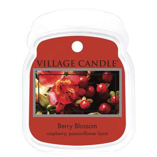 Village Candle Vonný vosk Berry Blossom 62g - Červené kvety