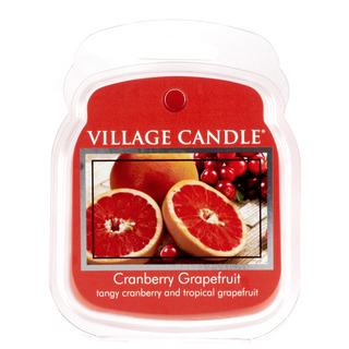 Village Candle Vonný vosk Cranberry Grapefruit 62g - Brusnica a grapefruit