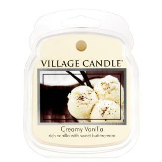 Village Candle Vonný vosk Creamy Vanilla 62g - Vanilková zmrzlina