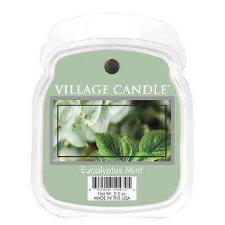 Village Candle Vonný vosk Eucalyptus Mint 62g - Eukalyptus a mäta