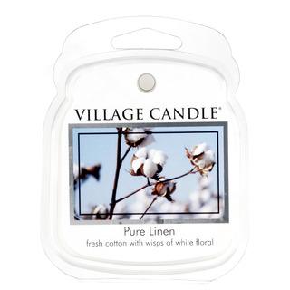 Village Candle Vonný vosk Pure Linen 62g - Čisté bielizeň