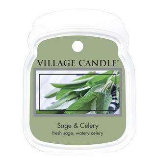 Village Candle Vonný vosk Sage Celery 62g - Svieža šalvia