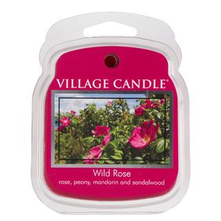 Village Candle Vonný vosk Wild Rose 62g - Divoká ruža