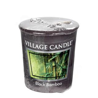 Village Candle Votívny sviečka Black Bamboo 57g - Bambus