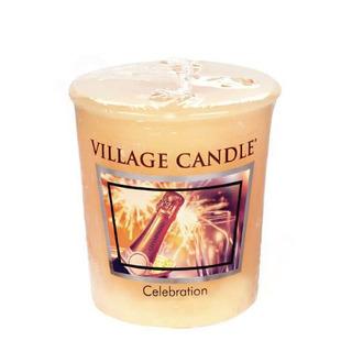 Village Candle Votívny sviečka Celebration 57g - Oslava