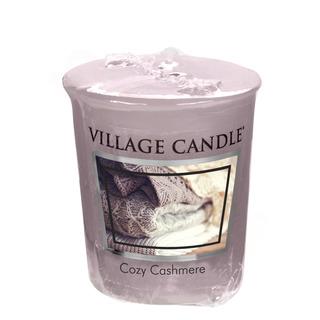 Village Candle Votívny sviečka Cozy Cashmere 57g - Kašmírové pohladenie