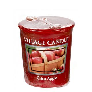 Village Candle Votívny sviečka Crisp Apple 57g - Svieža jablko