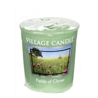 Village Candle Votívny sviečka Fields of Clover 57g - Zelená lúka