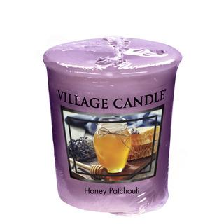 Village Candle Votívny sviečka Honey Patchouli 57g - Med a pačuli