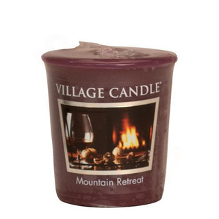 Village Candle Votívny sviečka Mountain Retreat 57g - Víkend na horách