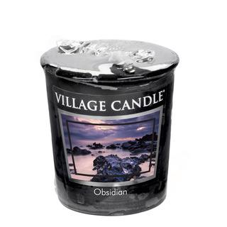 Village Candle Votívny sviečka Obsidian 57g - Obsidián