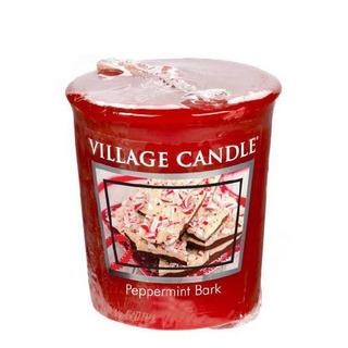 Village Candle Votívny sviečka Peppermint Bark 57g - Mätové potešenie