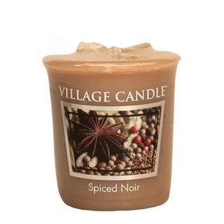 Village Candle Votívny sviečka Spiced Noir 57g - Korenie života