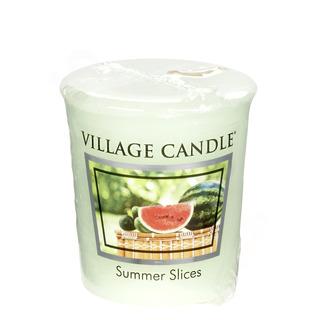 Village Candle Votívny sviečka Summer Slices 57g - Letný pohoda