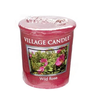 Village Candle Votívny sviečka Wild Rose 57g - Divoká ruža