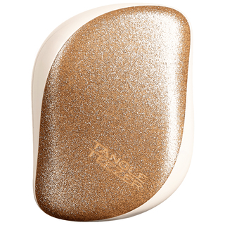 Tangle Teezer Trblietavo zlatý kompaktný kefa